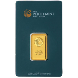 20g Lingotto Oro Perth Mint
